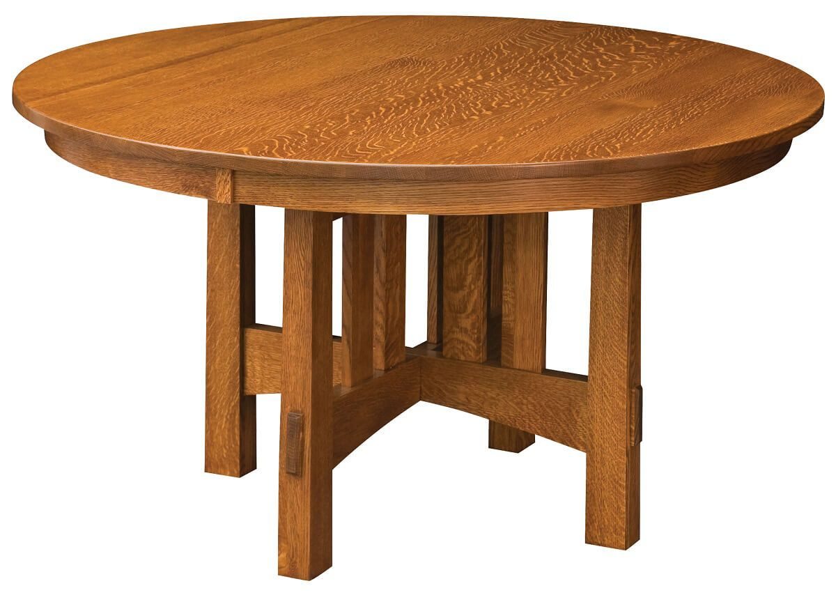Les Halles Round Trestle Dining Table