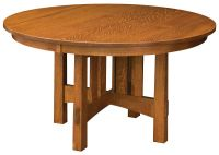 Les Halles Round Dining Table