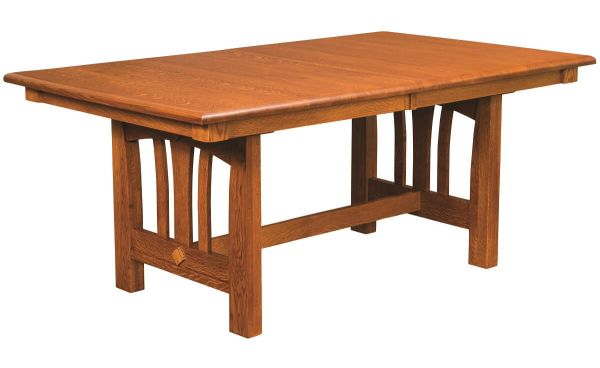 Misty Valley Butterfly Leaf Dining Table