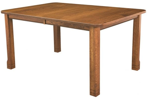 Parron Mission Extendable Leg Dining Table