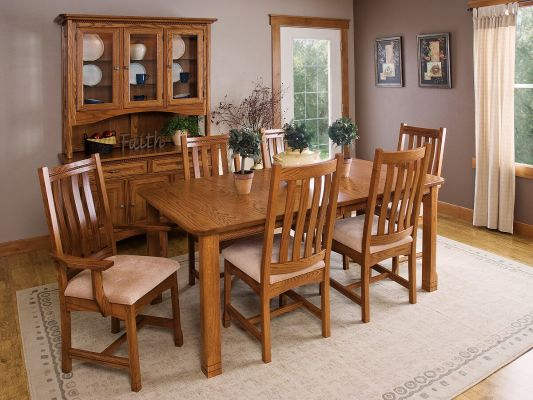 Parron Mission Dining Set