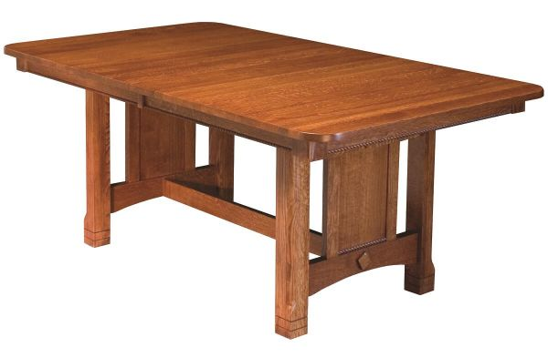 Parron Mission Trestle Dining Table