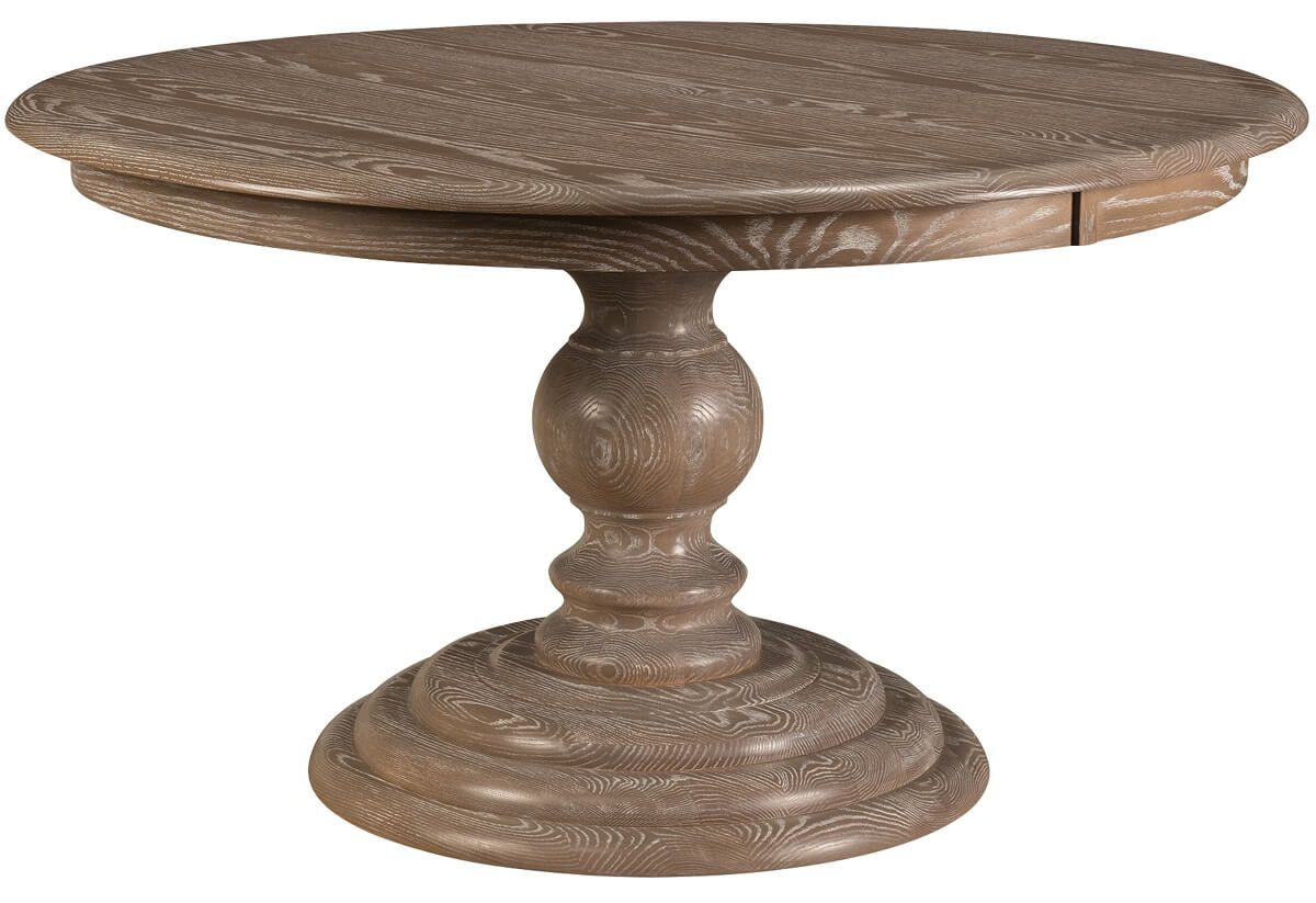 Ravello Round Pedestal Dining Table in Oak