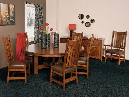 Santiago Mission Dining Set