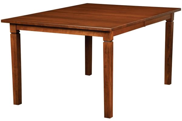 Sedgwick Modern Kitchen Leg Table in Cherry