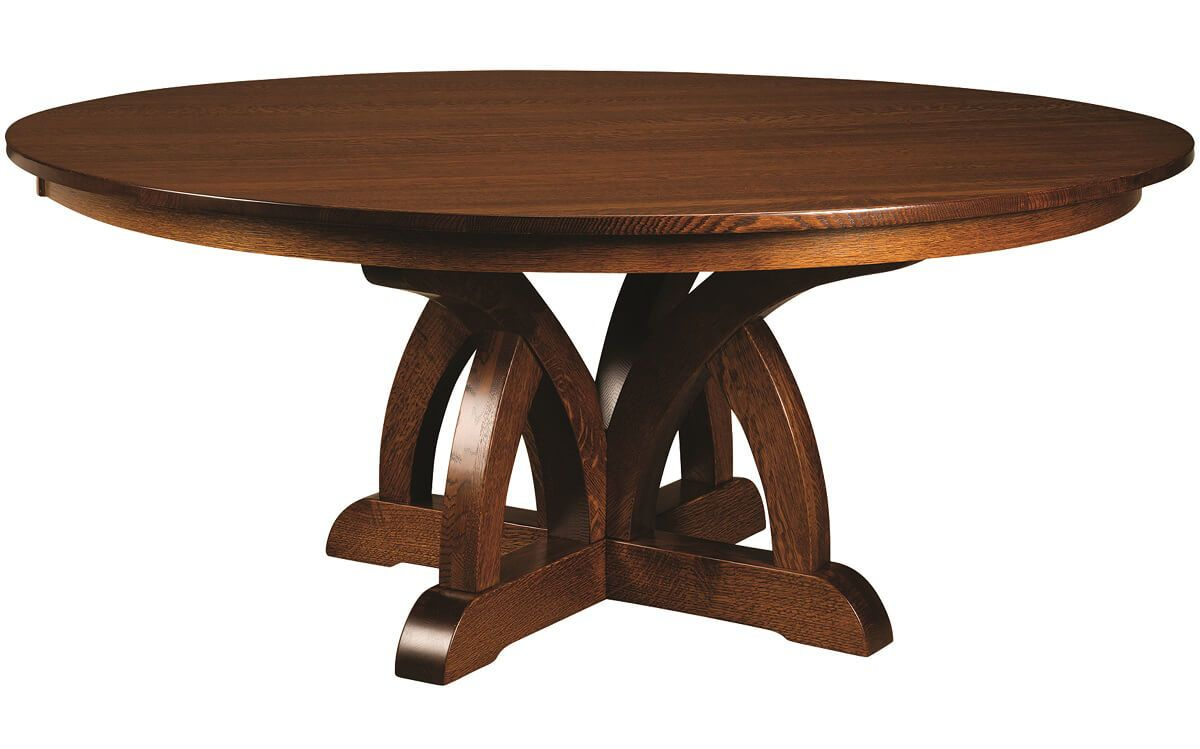 Thoreau Contemporary Single Pedestal Dining Table