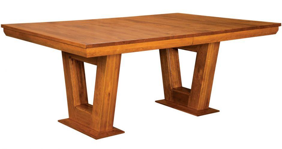 rubini craftsman dining room table countryside amish furniture