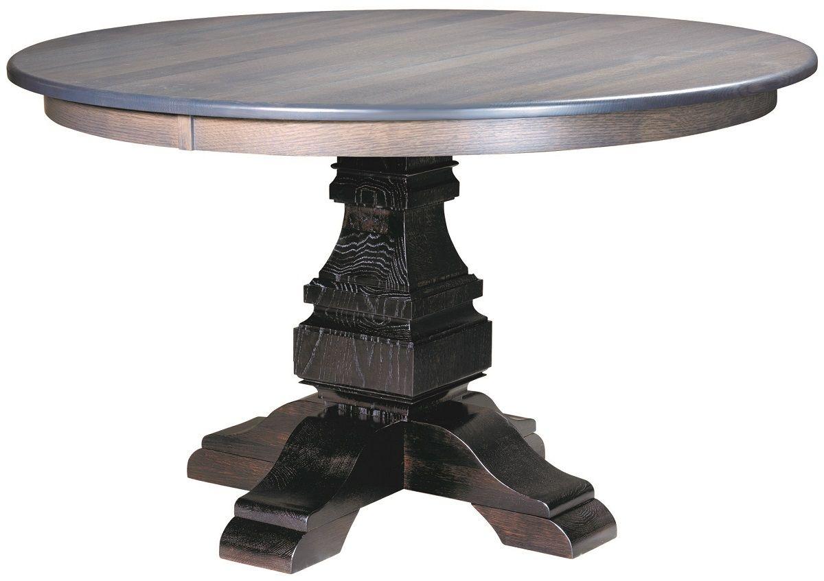 Burrillville Single Pedestal Table