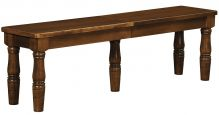 Woodbury Estate Dining Bench in Oak