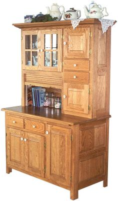 Jassamyn Shaker China Cabinet - Countryside Amish Furniture
