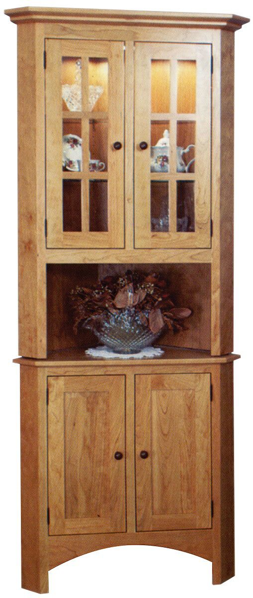 Ketchikan Corner China Hutch