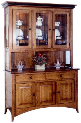 Logan County China Display Case