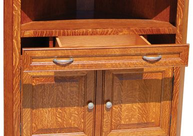 Mission Hutches & Cabinets- Countryside Amish Furniture