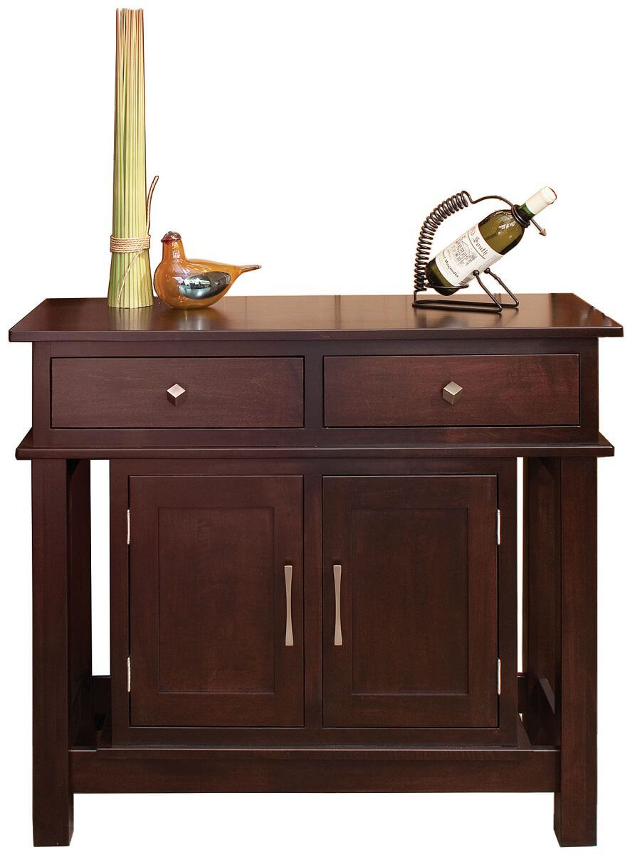 Rumson Club Buffet Server in Brown Maple