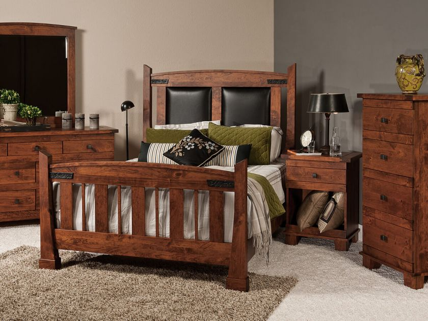 Abilene Mission Bedroom Set Countryside Amish Furniture