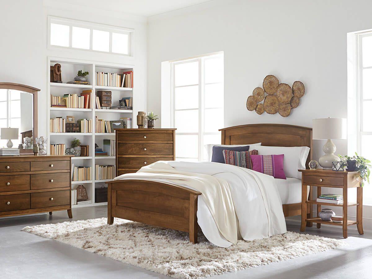 Glenmora Panel Bed Countryside Amish Furniture