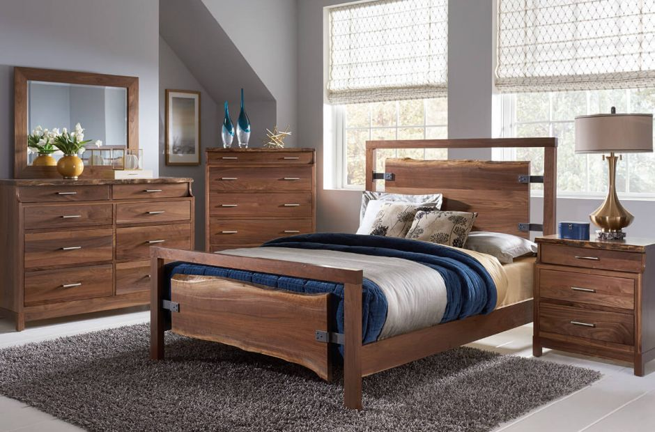 Nehalem Live Edge Bedroom Set image 1