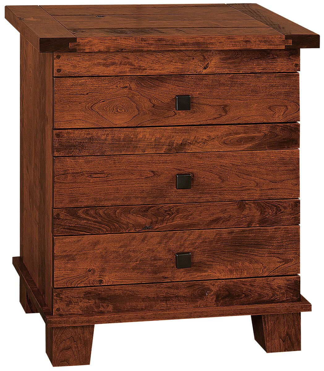 Abilene 3-Drawer Nightstand