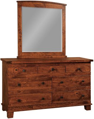 Abilene 7-Drawer Low Dresser