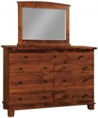 Abilene 9-Drawer High Dresser