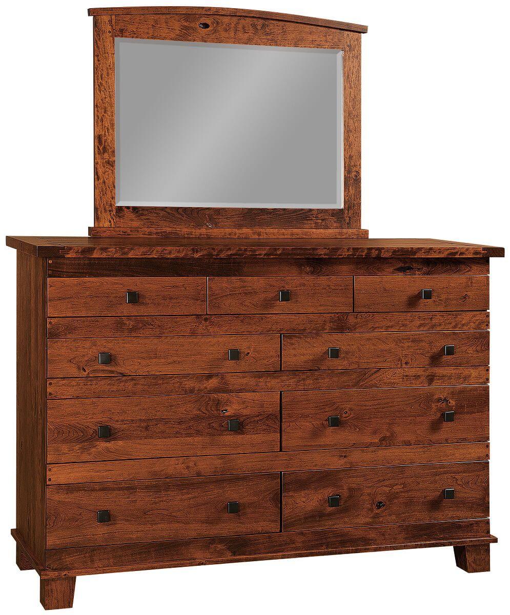 Abilene 9-Drawer High Dresser