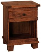 Abilene Nightstand with Open Base