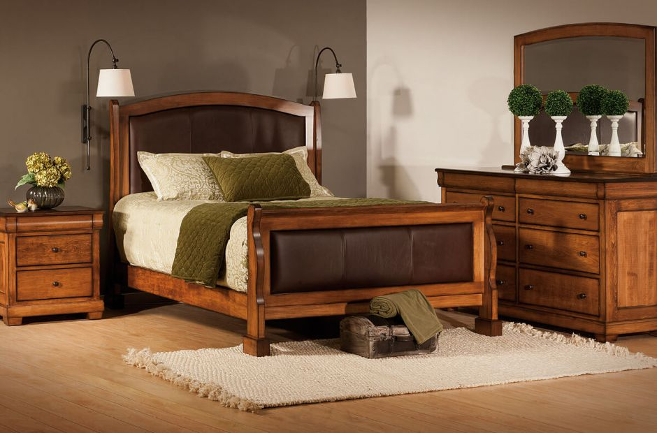 Amelie Handmade Bedroom Set Countryside Amish Furniture