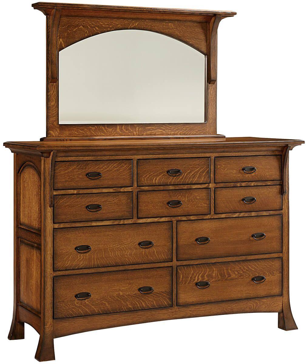 Lakewood 10-Drawer Dresser