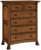Lakewood 6-Drawer Chest of Drawers