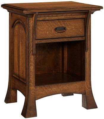 Lakewood 3-Drawer Nightstand