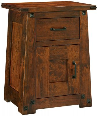 Lunada Solid Wood Nightstand