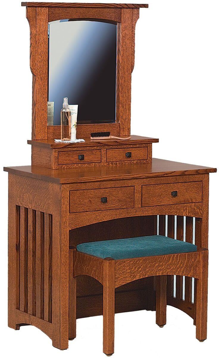 Rangeley Dressing Table and Bench