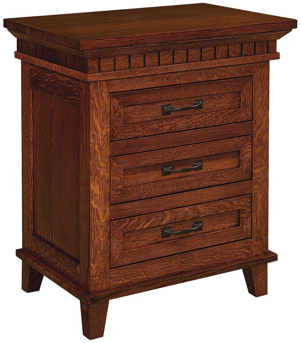 Whitney 3-Drawer Nightstand