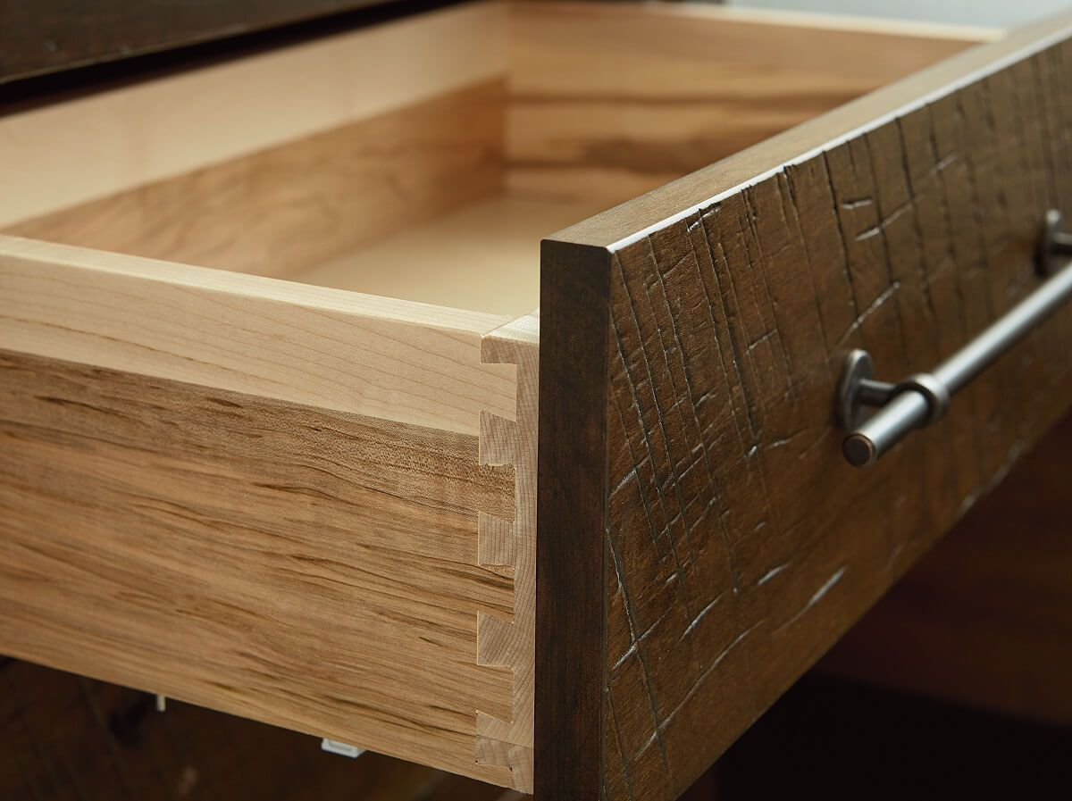 Dovetailed Soft Close Drawers