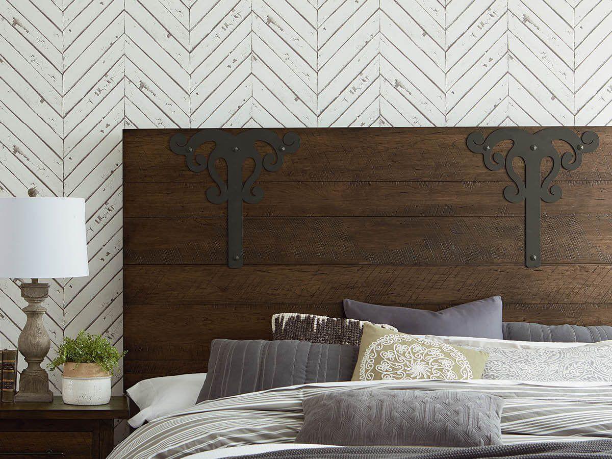Rustic Bed Frame Headboard