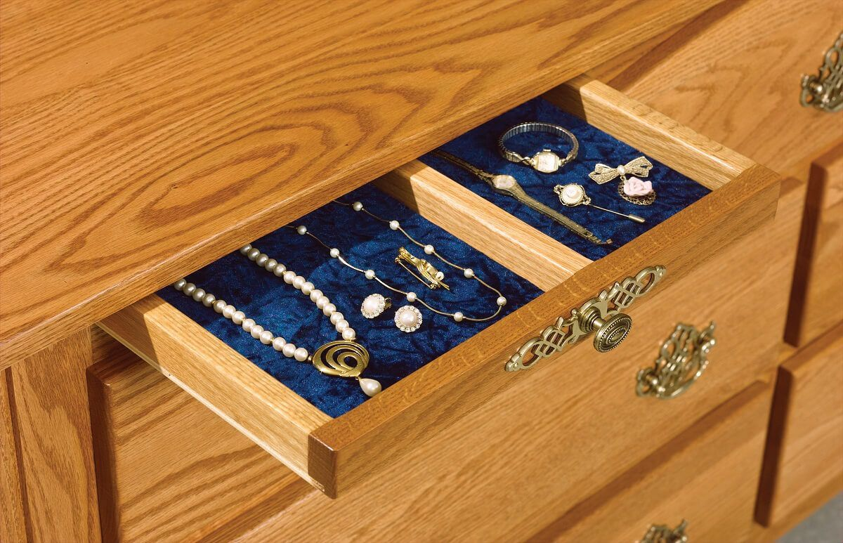 Two Jewelry Drawer Included