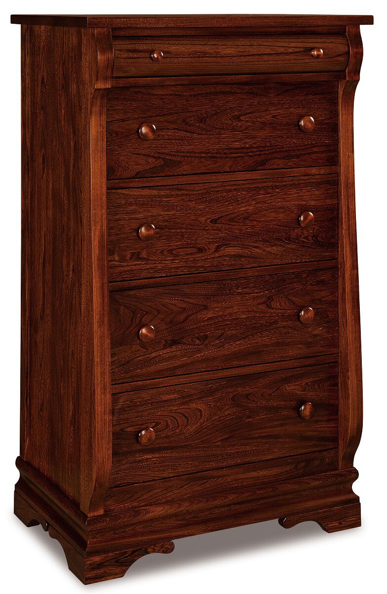 Milwaukee Sleigh Chest of Drawers