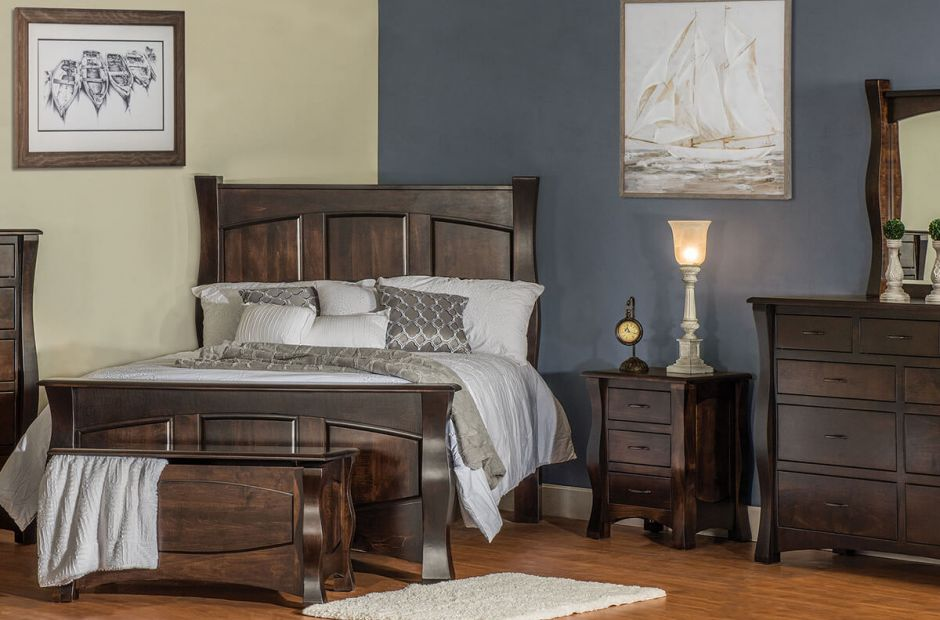 Edmond Solid Wood Bedroom Set - Countryside Amish ...