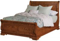 Milwaukee Sleigh Bed