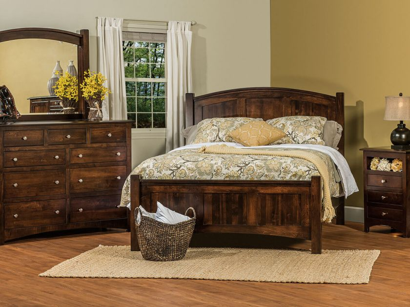 Norway Bedroom Furniture Set Countryside Amish Furniture