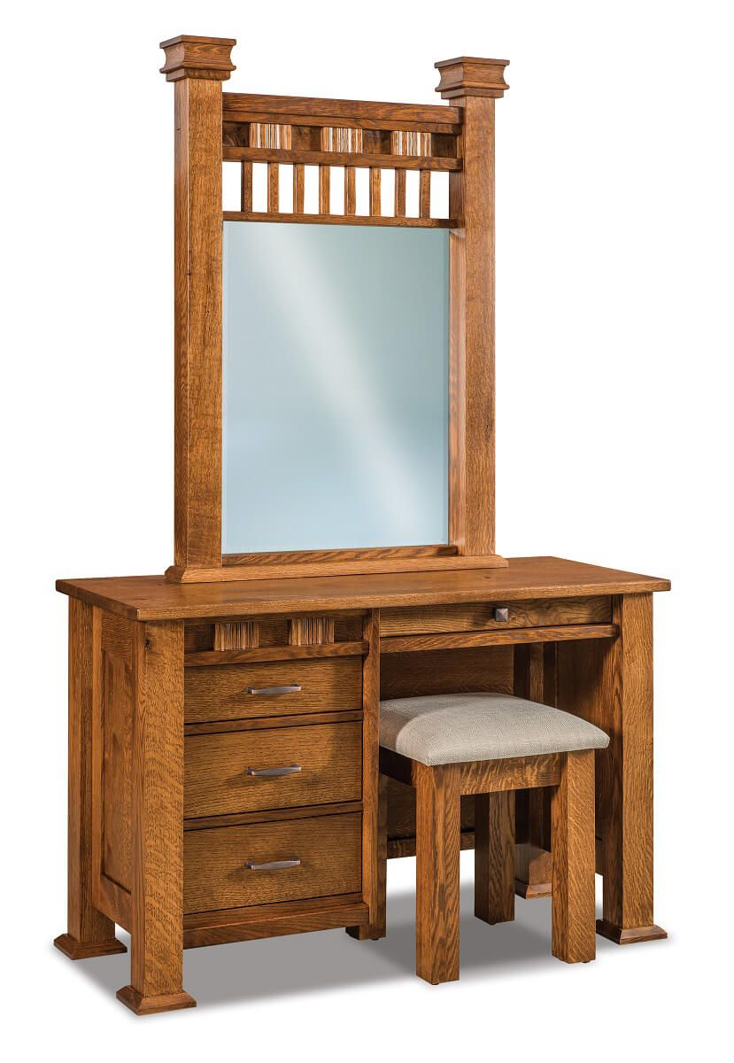 Tuskegee Vanity Dresser Countryside Amish Furniture