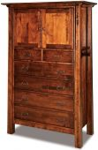 Bellevue 2-Door Chest Armoire