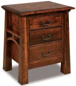 Bellevue 3-Drawer Nightstand