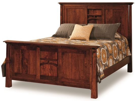 Bellevue Rustic Panel Bed