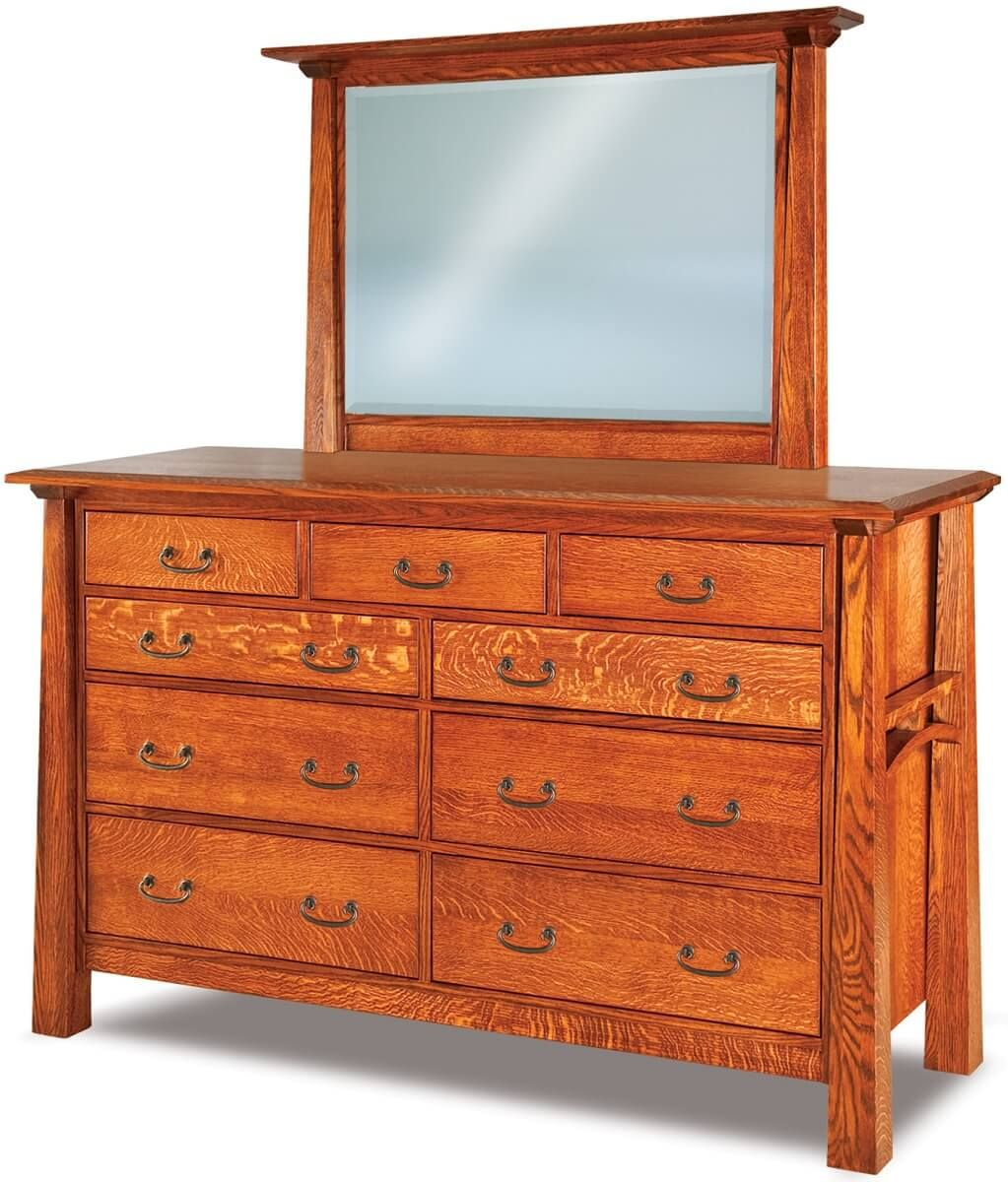 Bellevue Tall Dresser with Mirror
