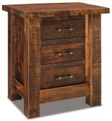 Brinkley 3-Drawer Nightstand