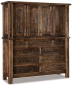 Brinkley Double Chest Armoire