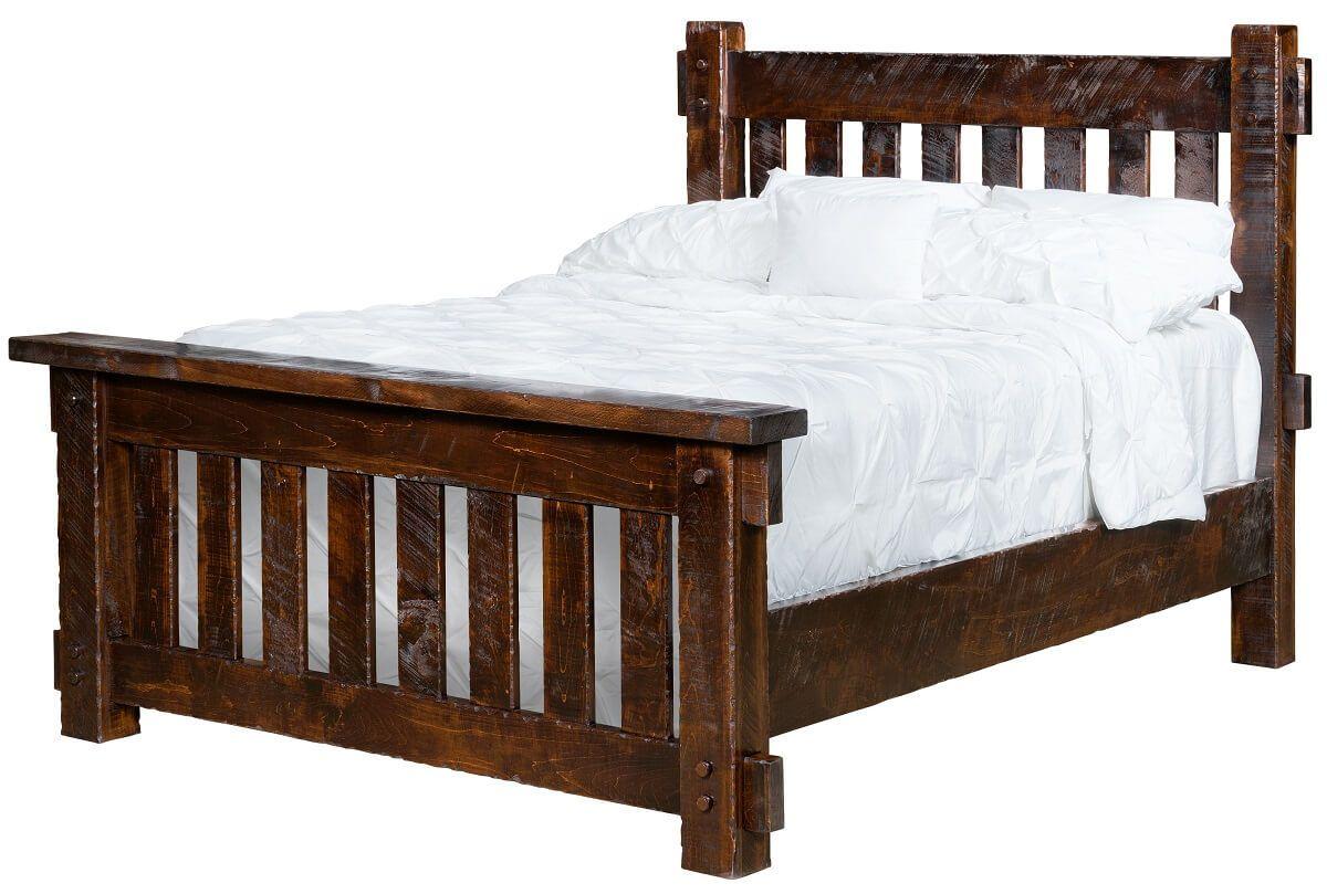 Brinkley Rustic Bed