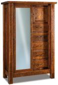 Brinkley Sliding Door Armoire