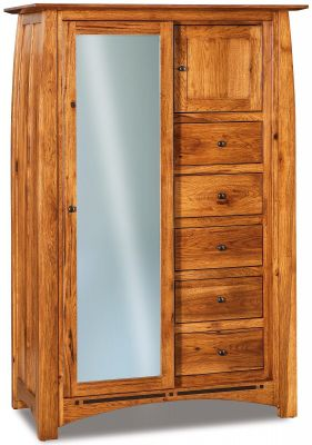 Castle Rock Sliding Door Armoire